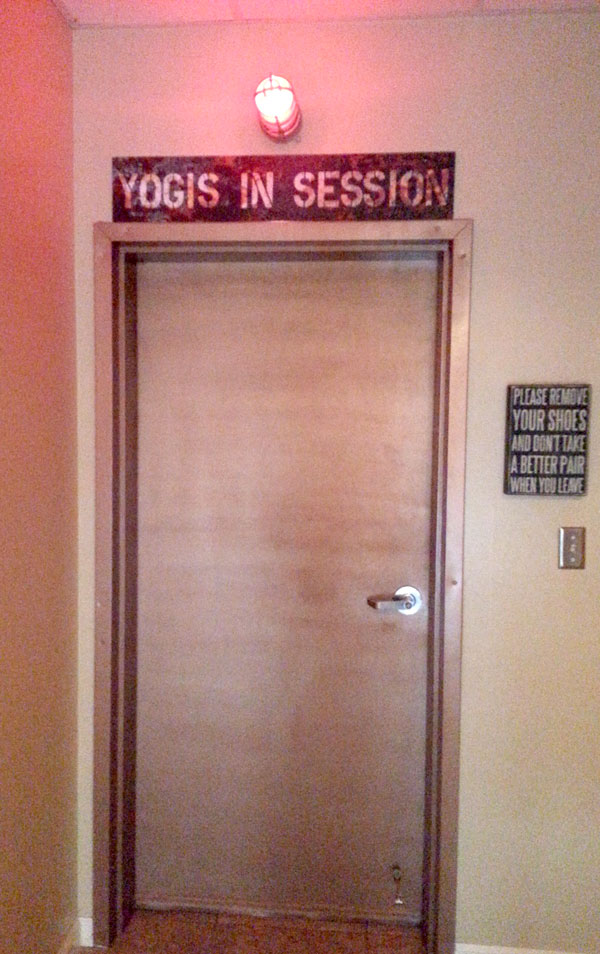 Yogis in session